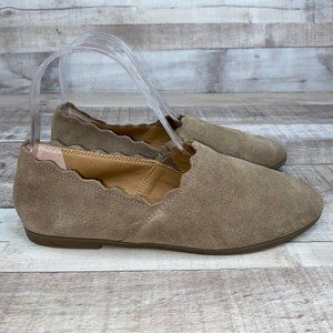 Lucky Brand Cloeey Slip On Flat Shoes Size 7 M